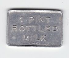 1 Pint Bottle Milk Millers Peter Sunderland Narrabri Phone 498 Token Z-373
