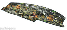 NEW Mossy Oak Break-Up Camo Camouflage Dash Mat Cover / 2005-07 FORD SUPER DUTY