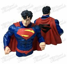 DC Comics Superman Figure Statue Bust Licensed Piggy Coin Bank