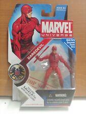 Marvel Universe 08 DAREDEVIL REGULAR RED SHIELD FILE SECRET CODE 1:16 scale.