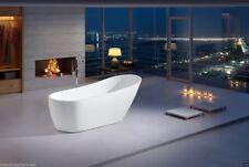 """Acrylic Bathtub - Freestanding - Soaking Tub - Modern Bathtub - Avalanti - 67"""""""