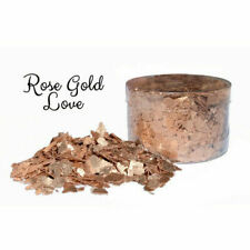 Crystal Candy ROSE GOLD Edible Flakes 6g