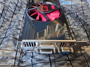 Carte graphique Gainward geforce gtx 460se 1Gb Ddr5 Dual Dvi + Hdmi + VGA