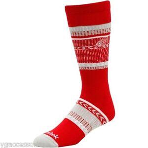 NHL Detroit Red Wings Tube Socks NEW