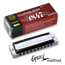 Harmonica Seydel 1847 Silver PT-Gazell Half Valved Key of A