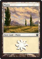 4 x Plains (233/249) - Theros - Magic the Gathering MTG Basic Land