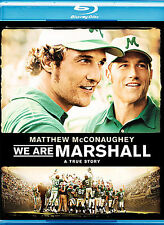 Blu-Ray DVD We Are Marshall Movie 2007 Preowned Mint