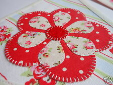 GIRLS CATH KIDSTON FABRIC PERSONALISED BUNTING Provence Rose £2.50/lettered flag