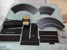 AURORA MODEL MOTORING  HO SLOT CAR Track Parts Lot of 25 Pieces Used 1960's USED