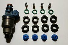DSM Eclipse Talon Fuel Injector O-Rings Rebuild Repair Kit 450cc Blue Black Top