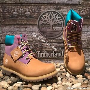 WOMEN'S TIMBERLAND PREMIUM 6-INCH WATERPROOF BOOTS A2MBE231 Size 8.5