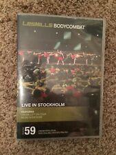 Les Mills BODY COMBAT 59 DVD, CD, notes bodycombat