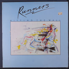 RUNNERS: Hitting The Wall LP (Australia, small scrapes on cover, small toc, sma