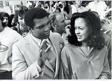 2 Photos Daniel Angeli - Mohamed Ali - Cassius Clay - Tirage d'époque 1970