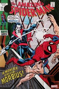 "Amazing Spider-Man #101 Folded Promo Poster | Morbius (24"" x 36"") New! [FP21]"