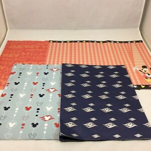 Disney Wrapping Paper Scrapbook Paper Mickey Mouse Ears Lot