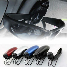 3 Pack Car Auto Sun Visor Glasses Sunglasses Card Holder Clip 8 Color in Random