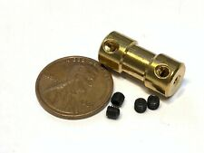 1 Motor Coupling Coupler Connector Drive Shaft Connector boat rc 2mm x 2mm A26