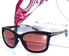 NEW* Oakley DROP IN Breast Cancer Black w G30 Logo lens Women's Sunglass oo9232