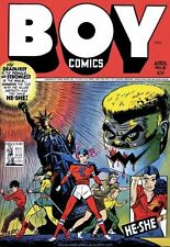 Boy Comics #9 Photocopy Comic Book