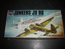 AIRFIX  JUNKERS JU 88  PLASTIC MODEL 1/72