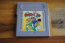 Jeu MARIO & YOSHI pour Nintendo Game Boy
