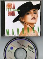 MADONNA La Isla Bonita Super Mix JAPAN 5-track CD WPCP-3440 w/PS 1990 issue