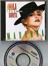 MADONNA La Isla Bonita Super Mix JAPAN 5-track CD WPCP-3440 w/PS 1990 issue