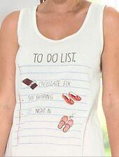 0e78f2b8416e56 Cotton Vest Lingerie & Nightwear for Women Pyjama Tops for sale   eBay