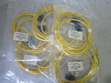 Lot of 5 Corning Optical Cables P.O.# 051-612634-1423, FUPD-7777-15FT