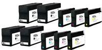 10PK 950 XL 951 XL Ink Cartridge for HP Officejet Pro 8100 8600 8610 8615