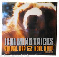 "SEALED - JEDI MIND TRICKS - ANIMAL RAP - DOUBLE 12"" EP - FEATURING KOOL G RAP"