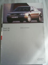 Audi A6 & S6 Saloon & Estate brochure May 1994 English text