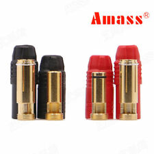 1set Amass AS150 Gold Plated Banana Plug 7mm Male/Female for High Voltage cable