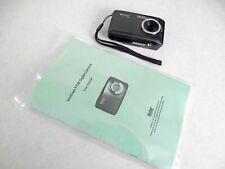 Vivitar ViviCam F128 14.1MP Digital Camera - Black ~ Tested and Fully Functional