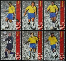 PANINI 1997 BRASIL COCA COLA FRANCE 98 WORLD CUP CARDS PICK UR PLAYERS