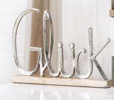Freistehende Deko-Schilder & -Tafeln mit Bildmotiven mit Buchstaben-Form