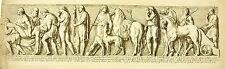 Funérailles antiques funerals Antike Beerdigung XVII th sc François Perrier 1645