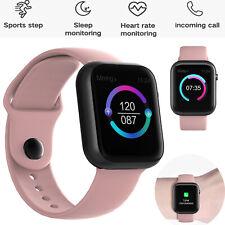 Smartwatch Heart Rate Monitor Smart Watch For Women Lady Girls Samsung LG Xiaomi