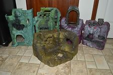 Castle Grayskull Snake Mountain Fright Zone Lot He-Man Masters of the Universe