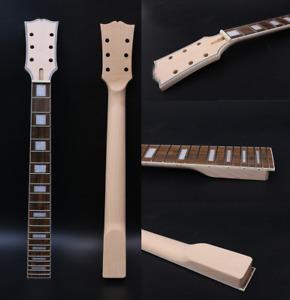 Maple Guitar Neck 22fret 24.75inch Rosewood Guitar Fretboard Binding Head Block