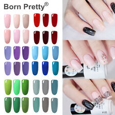 BORN PRETTY Nail Art Soak Off UV LED Gel Polish Varnish Top Base Coat Color Gel