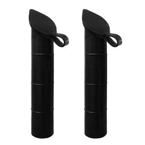 2Pcs 48mm Boat Yacht Fishing Rod Holder Inner Tube Liner Sleeve Replacement