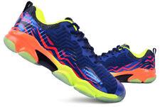 LI-NING Men's Badminton Shoes SONIC BOOM NEAT Navy Racket Racquet AYZN011-4S