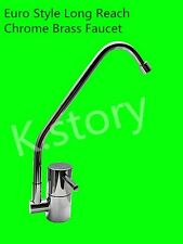 Chrome Filter Faucet - Water Filter Tap With Ceramic Disk Quarter Turn Handle