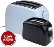 Quest Low Wattage 2 Slice Toaster Campsite Caravan Motorhome | Black