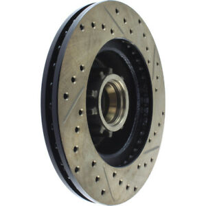 Disc Brake Rotor-Sport Drilled/Slotted Disc Front/Rear-Right Stoptech 127.63010R