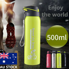 500ML 304 Stainless Steel Drink Water Bottle Insulated Keep Warm Cold Straw Mug