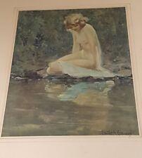 a fine art print of a nude 1920 nymph emile a gruppe