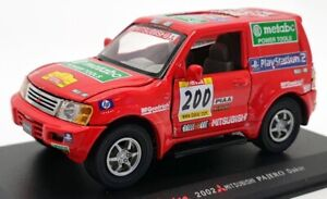 Saico 1/32 Scale Model Car TY3880 - 2002 Mitsubishi Pajero Dakar